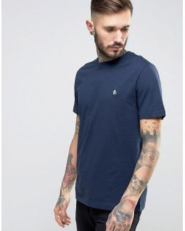 Small Logo T-shirt Slim Fit In Navy
