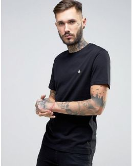 Small Logo T-shirt Slim Fit In Black