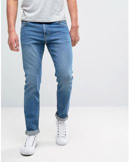 Friday Skinny Jeans Cricket Blue Wash
