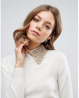 Bead Embellished Collar