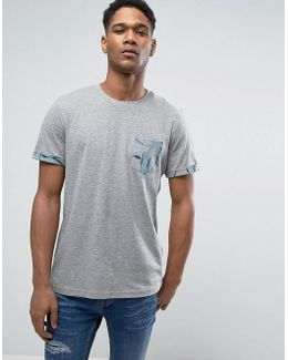 Originals T-shirt With Cuff And Pocket Print
