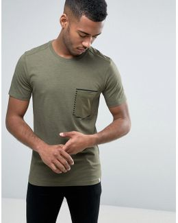 Core T-shirt With Printed Pocket Detail