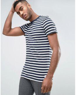 Core T-shirt In Stripe