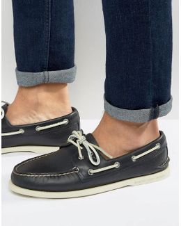 Topsider Leather Boat Shoes