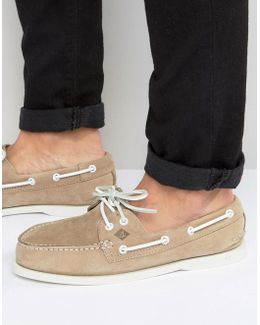 Topsider Suede Boat Shoes