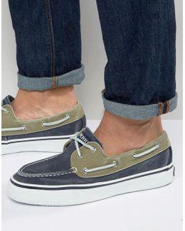 Topsider Bahama Linen Boat Shoes