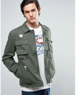 Originals Field Jacket With Military Patches