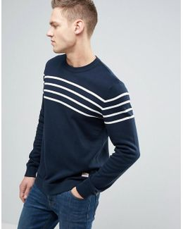 Originals 100% Cotton Sweater With Stripe