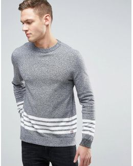 Originals 100% Cotton Jumper With Stripe