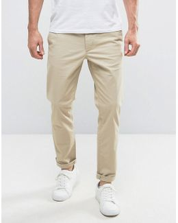Intelligence Slim Fit Chino In Stretch Cotton