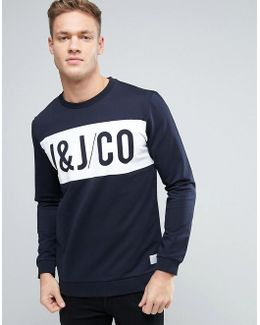 Core Sweatshirt With Graphic Print