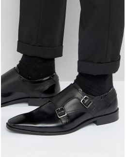 Brook Leather Monk Shoes