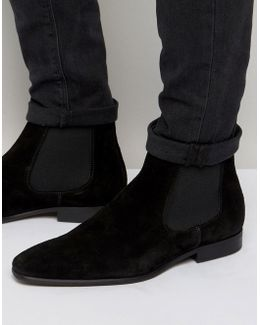 Francis Suede Chelsea Boots