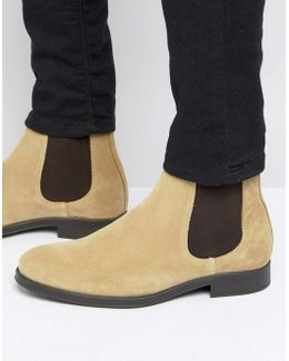 Oliver Suede Chelsea Boots