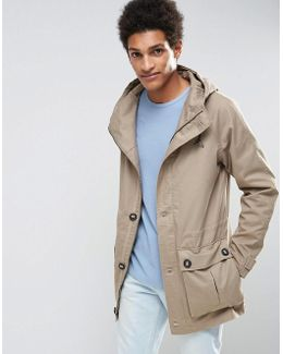 Parka With Drawstring Waistband