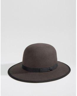 Sonoma Hat With Wide Brim