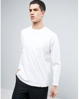 X By O Longsleeved T-shirt In White Bq3059