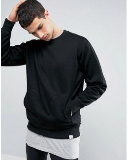 X By O Sweatshirt In Black Bq3082