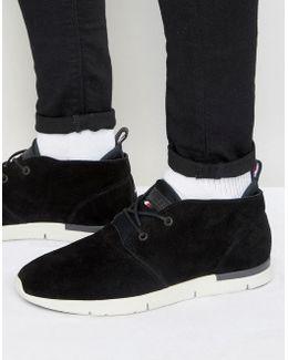 Tobias Mid Suede Sneakers