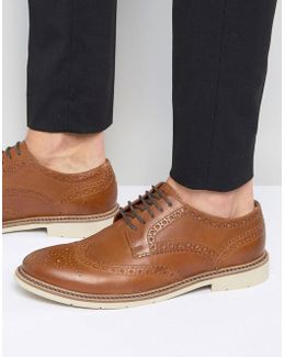 Metro Leather Brogues