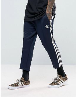 Sst Relax Cropped Joggers In Blue Bk3631