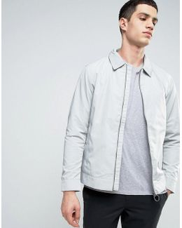 Zip Through Harington Jacket