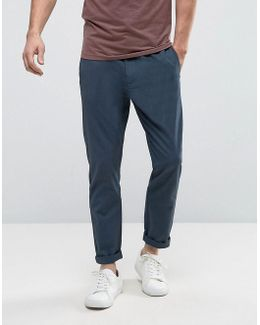 Pant In Tapered Fit With Elasticated Waist