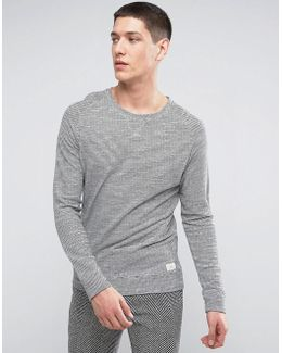 Sweatshirt With Stripe