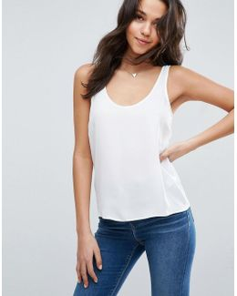 Longline Tank With Scoop Neck