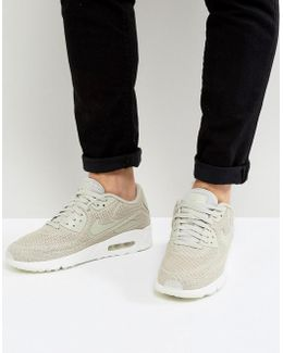 Air Max 90 Ultra Breathe Trainers In Beige 898010-002