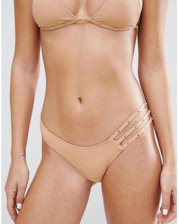 Studded Bikini Bottom