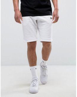 Modern Shorts With Futura Logo In White 805152-100