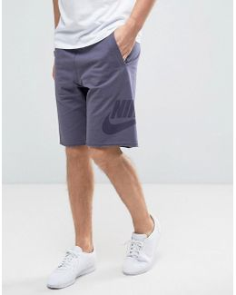 Terry Shorts In Purple 833959-539