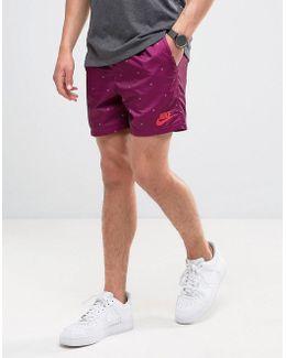 Woven Shorts In Purple 833879-665