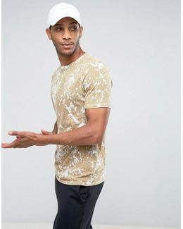 Ultra Splatter T-shirt In Beige 834620-101