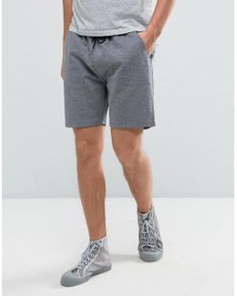 Tarrant Sweat Shorts Drawstring In Mid Gray Marl