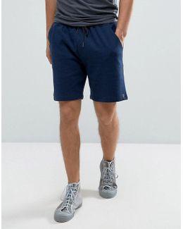 Tarrant Sweat Shorts Drawstring In Navy Marl