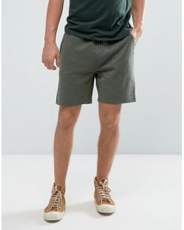 Tarrant Sweat Shorts Drawstring In Green Marl