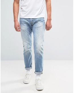 Ed-55 Regular Tapered Jeans Heaven Wash