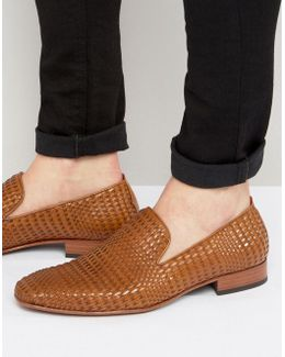 Yung Woven Leather Smart Loafers
