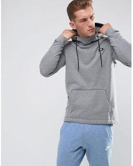 Modern Pullover Hoodie In Grey 805128-091