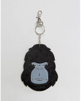 Ape Leather Keychain