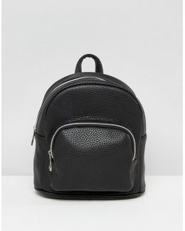Mini Backpack With Front Pocket