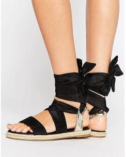Julia Tie Leg Sandal Espadrilles
