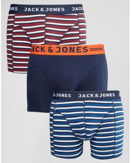 Trunks 3 Pack Stripe