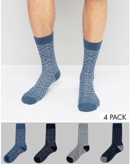 Socks 4 Pack