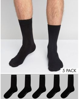 Socks 5 Pack