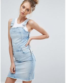 Jeans Dungaree Dress