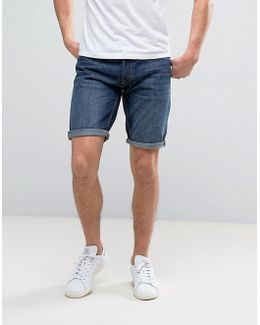 Intelligence Denim Shorts In Regular Fit