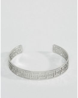 Bangle With Square Cut Out Design
